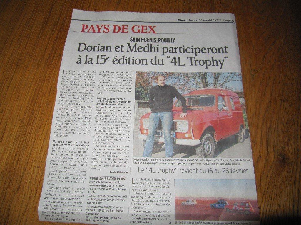 Article du Dauphiné Libéré dans News IMG_2497-1024x768